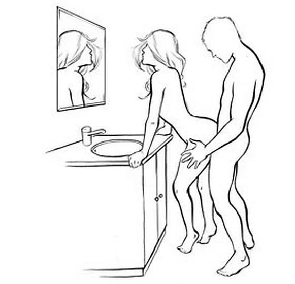Позы в сексе рисунки