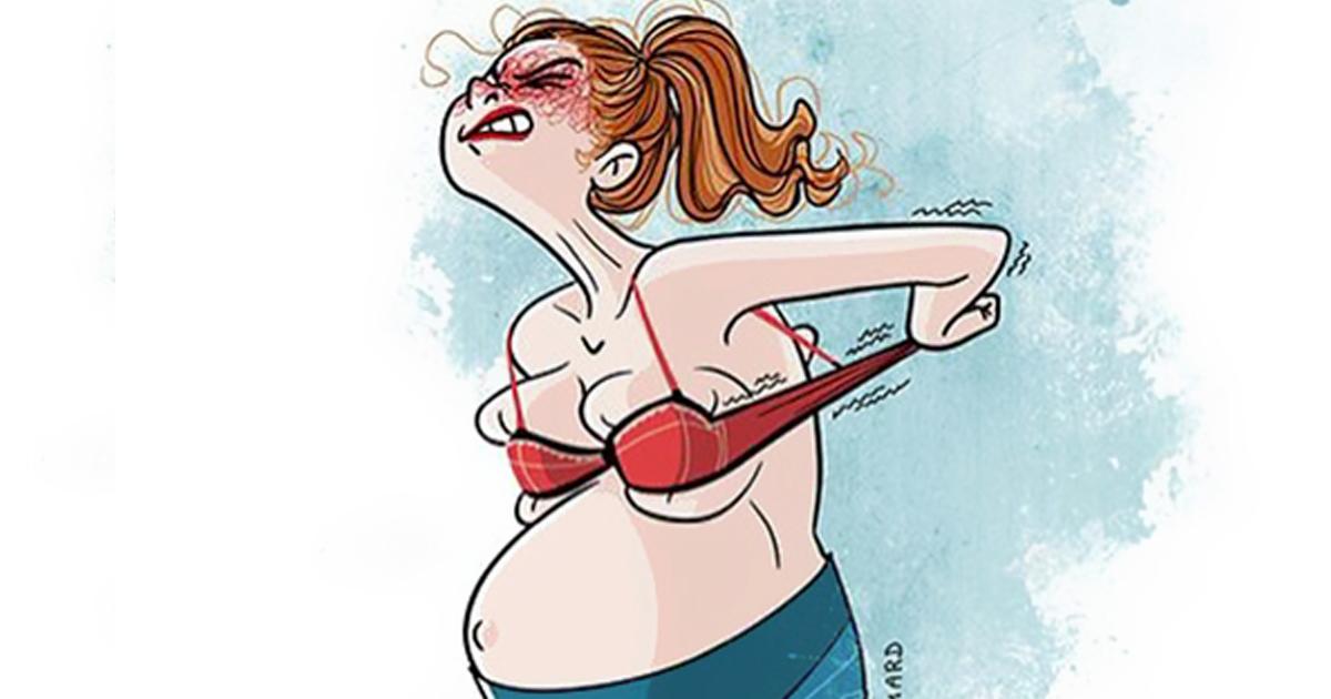 Смешные картинки про радость материнства