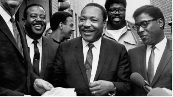 martin luther king conflict A portrait of the last 18 months of martin luther king jr's life captures the civil rights leader in a purgatory of anxiety and conflict.