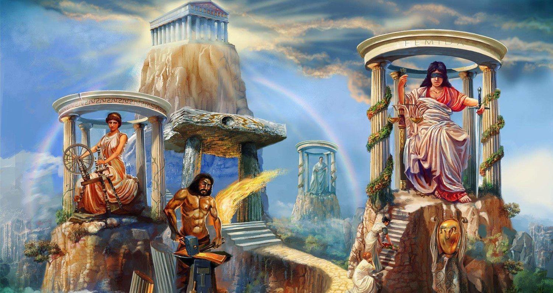Пройти тест кто ты в древнегреческой мифологии