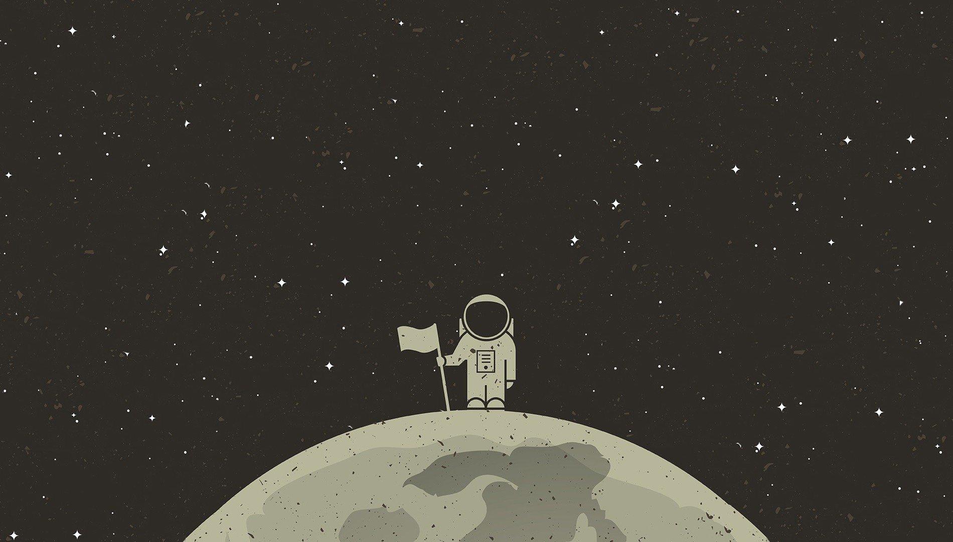 Картинки минимализм космический