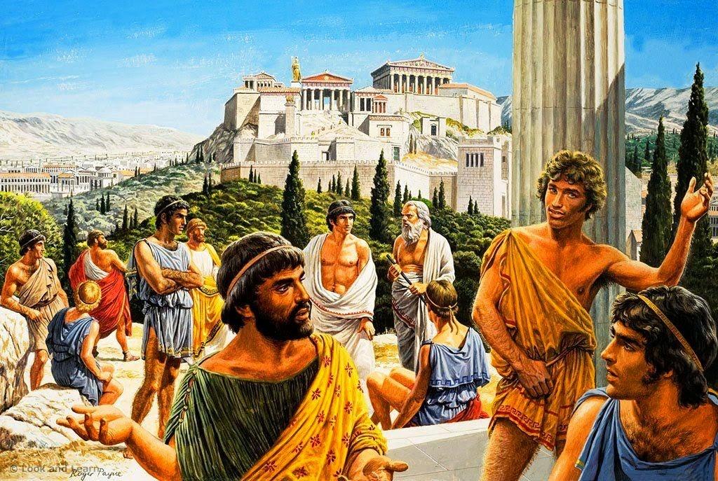 Мир древней греции картинки омлета это