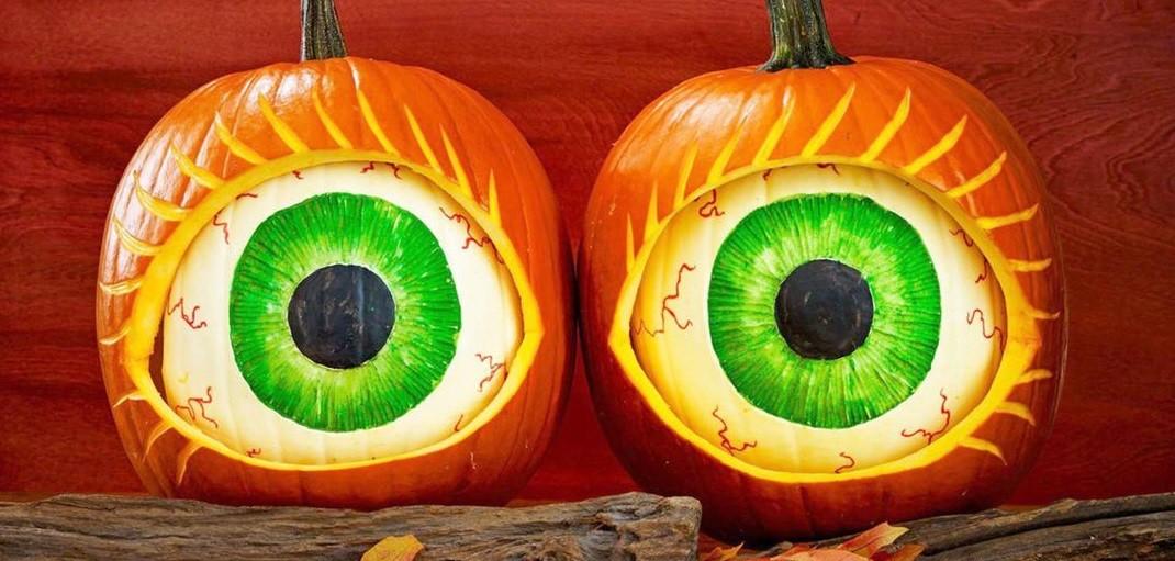 Как сделать тыкву на Хэллоуин не из тыквы