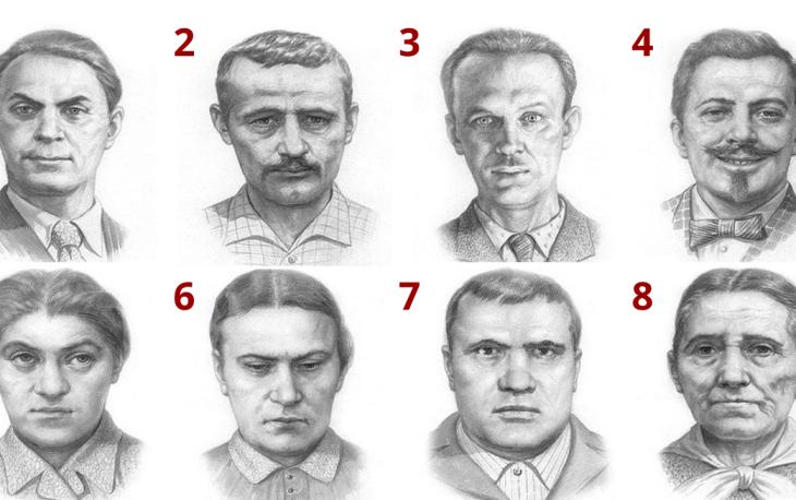 """Тест Сонди: Выбери лицо, которое тебя пугает, и узнай свой """"диагноз"""""""
