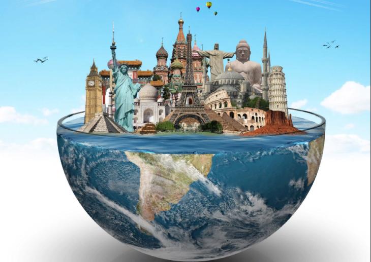 15 необычных карт, которые не учат на географии